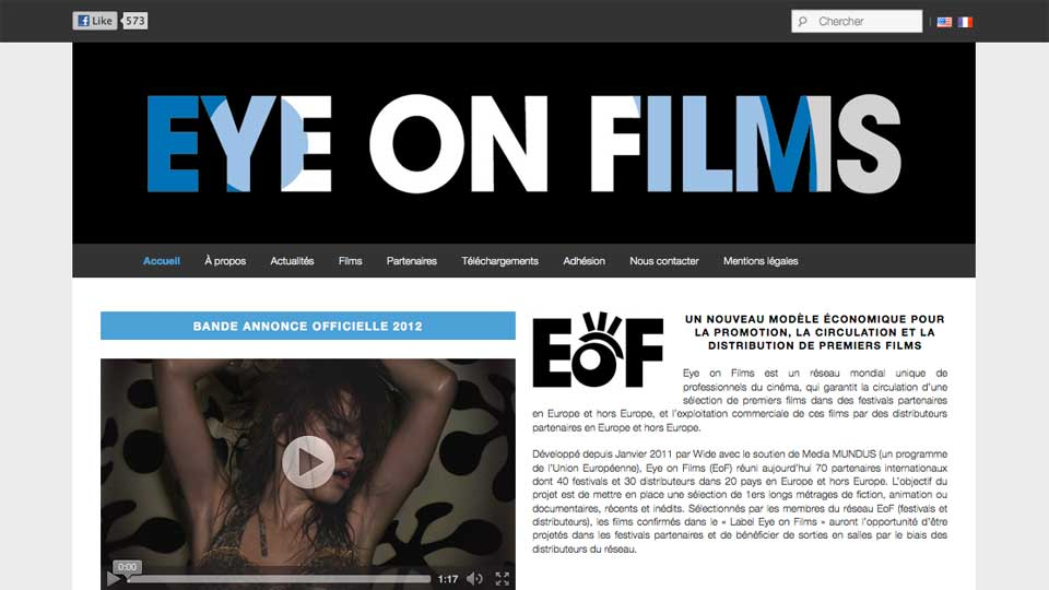 The EoF's new website is online