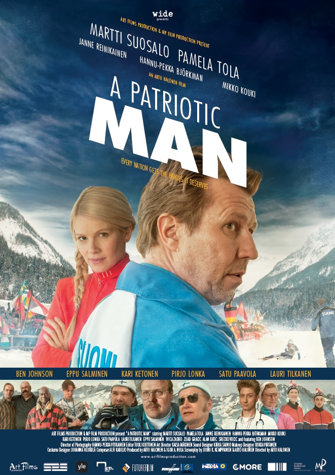 A Patriotic Man - poster