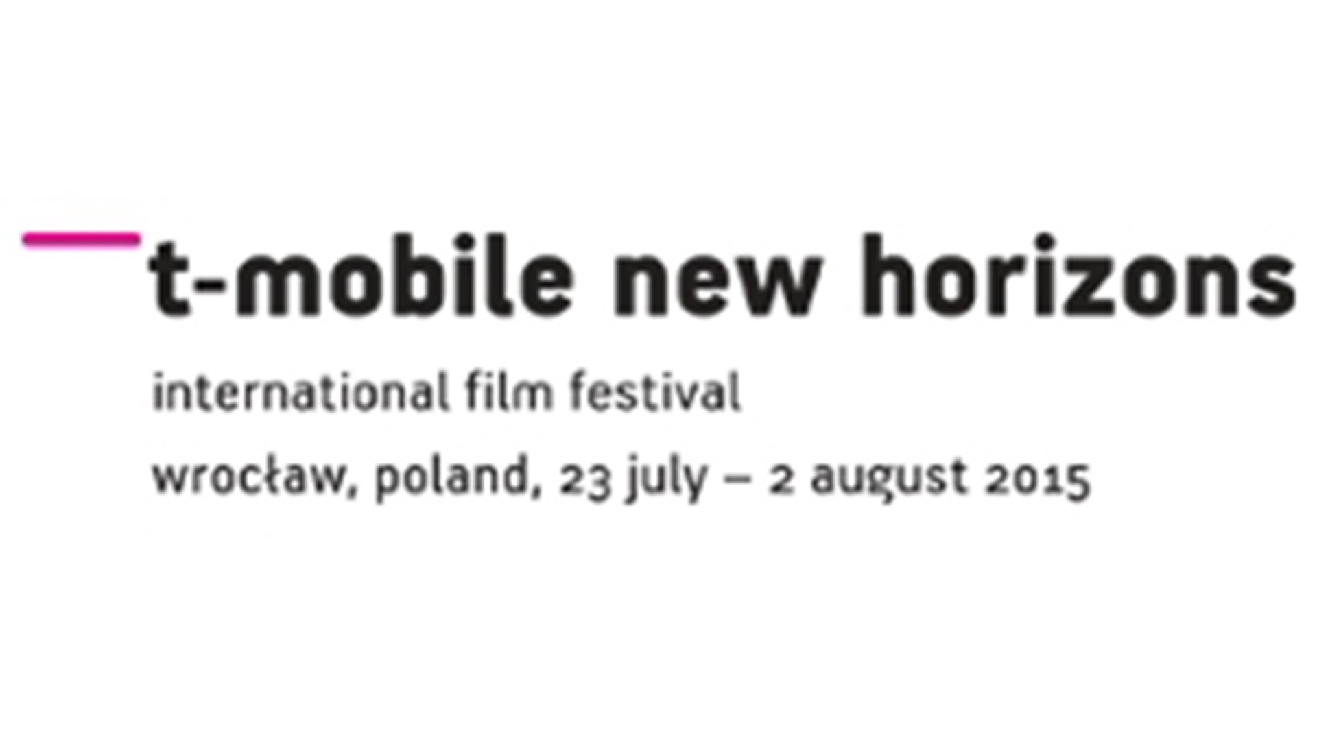 NEW HORIZONS INTERNATIONAL FILM FESTIVAL 2015